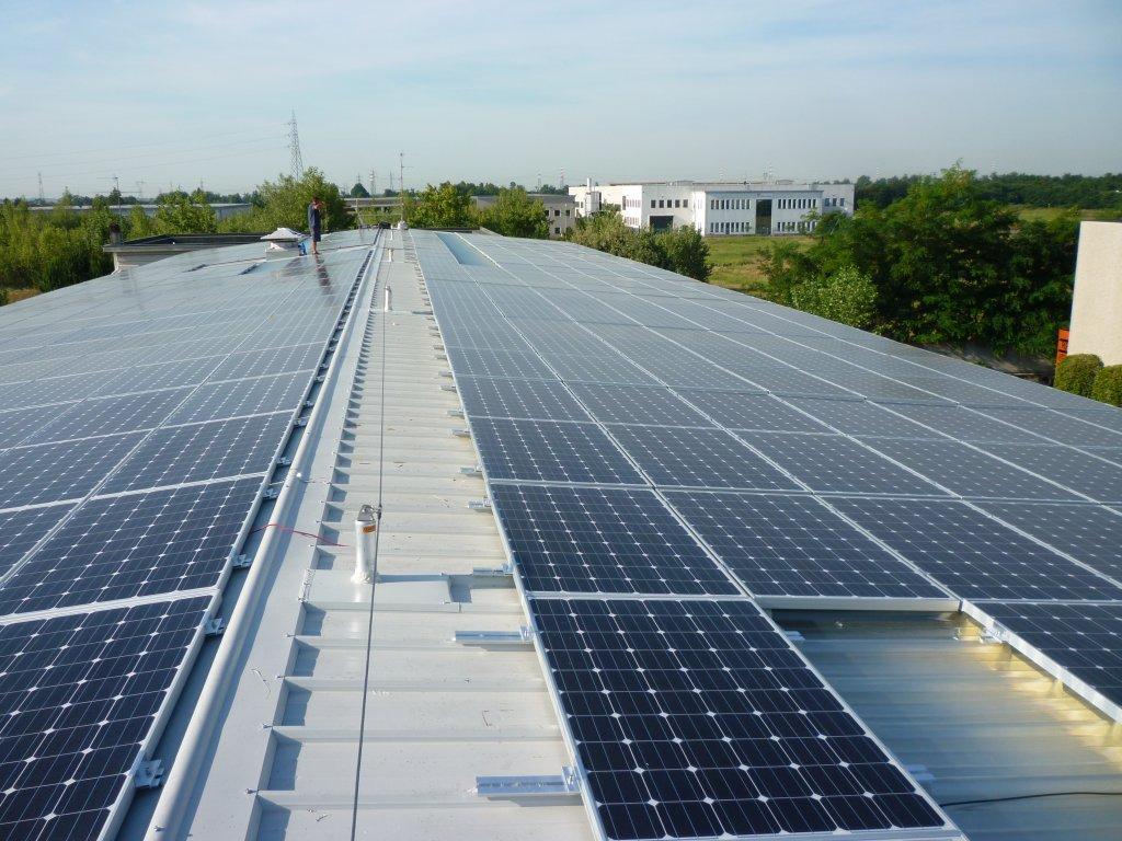 Impianto fotovoltaico 120 kW - 2011